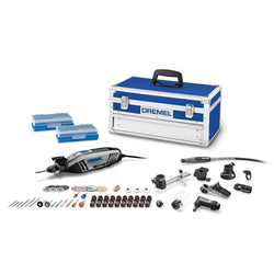 Dremel 4300 964 - Series 1.8 Amp Corded Variable Speed Rotary Tool Kit with Case (45 Accessor - Wise Line Tools