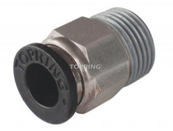 TOPRING 44.185  -  Male threaded straight connector 1/2 x 1/2 (m) npt maxfit