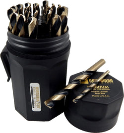 Norseman 29pc Type 190-AG Drill Bit Set