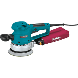 "Makita BO6030  -  6"" Random Orbit Variable Speed Sander"