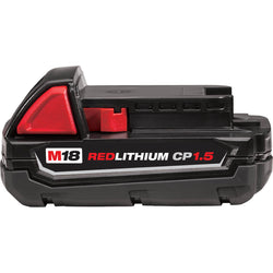 Milwaukee  48-11-1815  -  M18™ Compact REDLITHIUM™ Battery - wise-line-tools