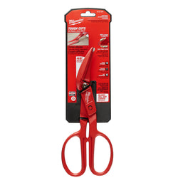 "Milwaukee 48-22-4005 - 10"" Offset Tinner Snips - wise-line-tools"