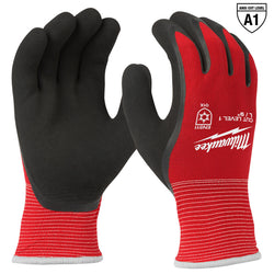 Milwaukee Cut Level 1 Insulated Gloves - L - wise-line-tools