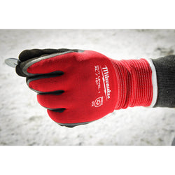 Milwaukee Cut Level 1 Insulated Gloves - XL - wise-line-tools