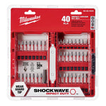 Milwaukee 48-32-4020 Impact Driver Bit Set (40 Pc.) - Wise Line Tools