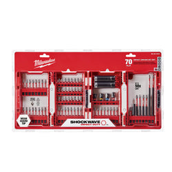 Milwaukee™ (48-32-4021) 70 Piece Milwaukee Shockwave Impact Duty Driver Bit Set - wise-line-tools