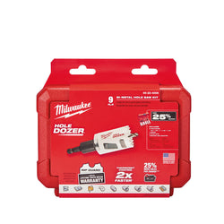 Milwaukee 49-22-4006 HOLE DOZER™ General-Purpose Hole Saw Kit - 9PC - Wise Line Tools