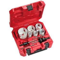 Milwaukee  49-22-4095 HOLE DOZER™ Electricians Hole Saw Kit - 10PC - wise-line-tools