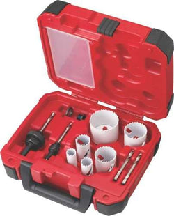 Milwaukee 49-22-4145 10pc Plumber's Hole Saw Kit - Wise Line Tools