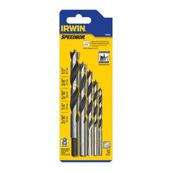 Irwin 49600  -  pilot Drill Bit 5pc set
