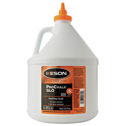 Keson 105GO  -  Orange Chalk 5lb Container