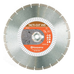 "Husqvarna High Spd Diamond Blade, 14"" x 0.118 x 1"" - Wise Line Tools"