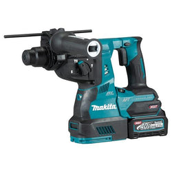 "MAKITA HR001GM101  -  XGT 40V (4.0 Ah) MAX Li-Ion Brushless AWS 1-1/8"" Rotary Hammer Kit"