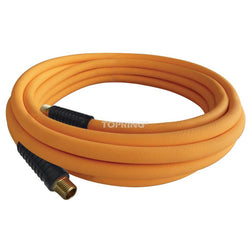 ECOFLEX 70.140 FLEXIBLE TECHNOPOLYMER AIR HOSES WITH FITTINGS - ORANGE - wise-line-tools