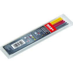 Sola TLMEMF - 6 LEAD REFILLS, 2 GRAPHITE, 2 YELLOW, 2 RED