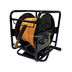 PolyReel Portable Hose Reel With Eco Flex Air Hose - Wise Line Tools