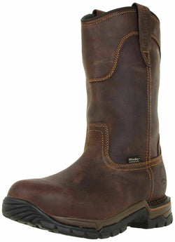 83906 - MEN'S 11-INCH WATERPROOF LEATHER SAFETY TOE PULL-ON BOOT - wise-line-tools
