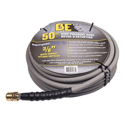 "BE 85.238.156  -  50ft 4000 PSI 3/8"" Non Marking Rubber Hose"