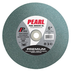 Pearl BG634080  -  6 x 3/4 x 1  grinding wheel (For metal)