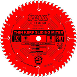 "Freud LU91R012  -  12"" 72T Thin Kerf Sliding Compound; Miter Saw Blade 72 Tooth"