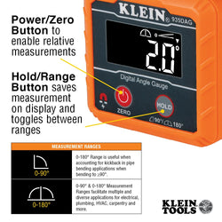 Klein 935DAG  -  Digital Angle Gauge and Level