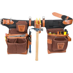 Occidental 9855 - Adjust-to-Fit Fat Lip Tool Bag - Cafe