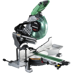 "Metabo HPT C3610DRAM 36V Multi Volt 10"" Dual Bevel Sliding Miter Saw With Wall Adapter - Wise Line Tools"