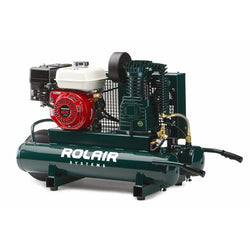 ROLAIR 5.5-HP 9-Gallon Wheelbarrow Air Compressor w/ Honda Engine - 4090HK17 - wise-line-tools