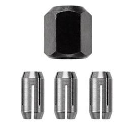 "RotoZip Collet & Nut Kit - 1/8"", 5/32"", 1/4"" - Wise Line Tools"