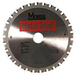 "Morse 7-1/4"" 68T Thin Metal Cutting Saw Blade - Wise Line Tools"