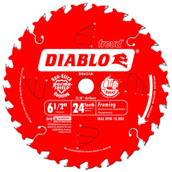 "Freud Diablo 6-1/2"" 24 Tooth Saw Blade - wise-line-tools"