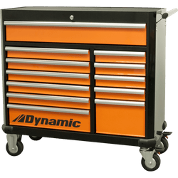 "Dynamic D069203  -  42"" 12 Drawer Roller Cabinet Tool Box - wise-line-tools"