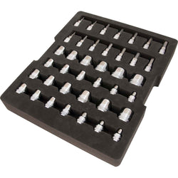"Dynamic 39pc 3/8"" Drive Socket Tray - Wise Line Tools"