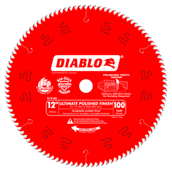 DIABLO D12100X  -  12'' 100T SAW BLADE - wise-line-tools