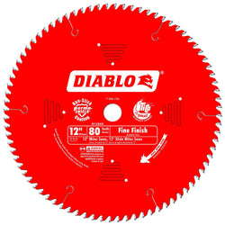 "Freud D1280X - Diablo 12"" 80T Fine Finish Saw Blade - Wise Line Tools"