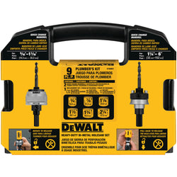 DEWALT D180001 Standard Plumbers Bi-Metal Hole Saw Kit - Wise Line Tools