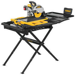 DeWalt D36000S  -  10 in Heavy Duty Wet Tile Saw with Stand