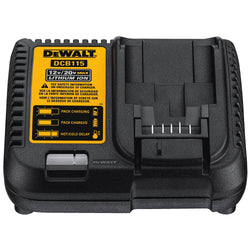 DEWALT DCB115 MAX Lithium Ion Battery Charger, 12V-20V - wise-line-tools