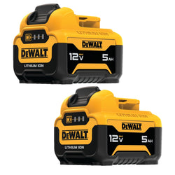 Dewalt DCB126-2  12V MAX* 5.0AH LITHIUM ION BATTERY 2 Pack