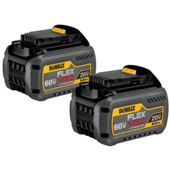 DEWALT DCB606-2 FLEXVOLT™ 20/60V MAX BATTERY PACK 6.0AH DUAL PACK - Wise Line Tools