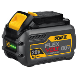 DEWALT DCB606 20/60V MAX FLEXVOLT 6.0 Ah Battery Pack - wise-line-tools