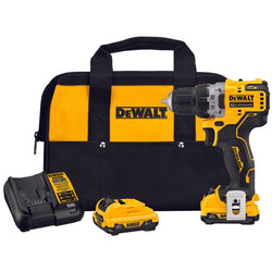 DEWALT DCD701F2 XTREME™ 12V MAX* BRUSHLESS 3/8 IN. CORDLESS DRILL/DRIVER KIT - wise-line-tools