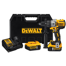 DEWALT DCD996P2 20V MAX XR Lithium Ion Brushless 3-Speed Hammer Drill Kit - wise-line-tools