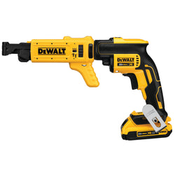 DEWALT DCF6201 20-volt MAX XR Li-Ion Drywall ScrewGun Cordless Collated Magazine - wise-line-tools