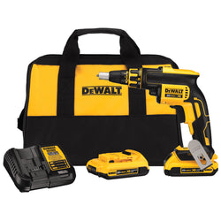 DEWALT DCF620D2 2.0AH 20-volt MAX XR Li-Ion Brushless Drywall ScrewGun - wise-line-tools