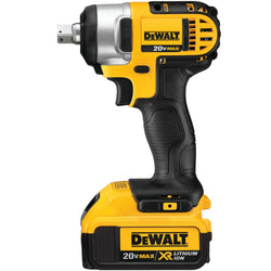 DEWALT DCF880M2 20-volt MAX Lithium Ion 1/2-Inch Impact Wrench Kit with Detent P - wise-line-tools