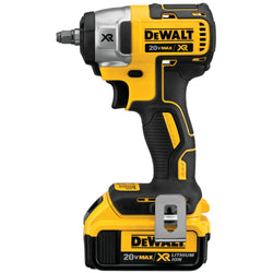 "DEWALT DCF890M2 - 20V MAX* XR 3/8"" COMPACT IMPACT WRENCH KIT - Wise Line Tools"