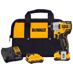 DEWALT DCF902F2 - XTREME™ 12V MAX* BRUSHLESS 3/8 IN. CORDLESS IMPACT WRENCH KIT - Wise Line Tools