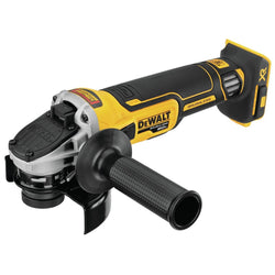 DEWALT DCG405B 20V MAX* XR® 4.5 IN. SLIDE SWITCH SMALL ANGLE GRINDER WITH KICKBACK BRAKE (TOOL ONLY)