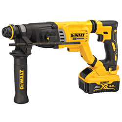 DEWALT DCH263R2 1-1/8 IN. SDS PLUS D-HANDLE ROTARY HAMMER KIT - Wise Line Tools